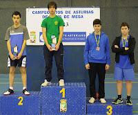 Juegos Deportivos Individuales 2013 Podio Cadete masculino