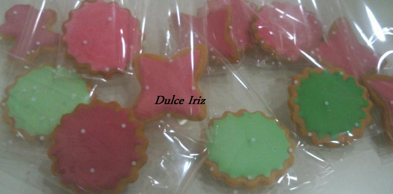 galletas de mantequilla - dulce iriz