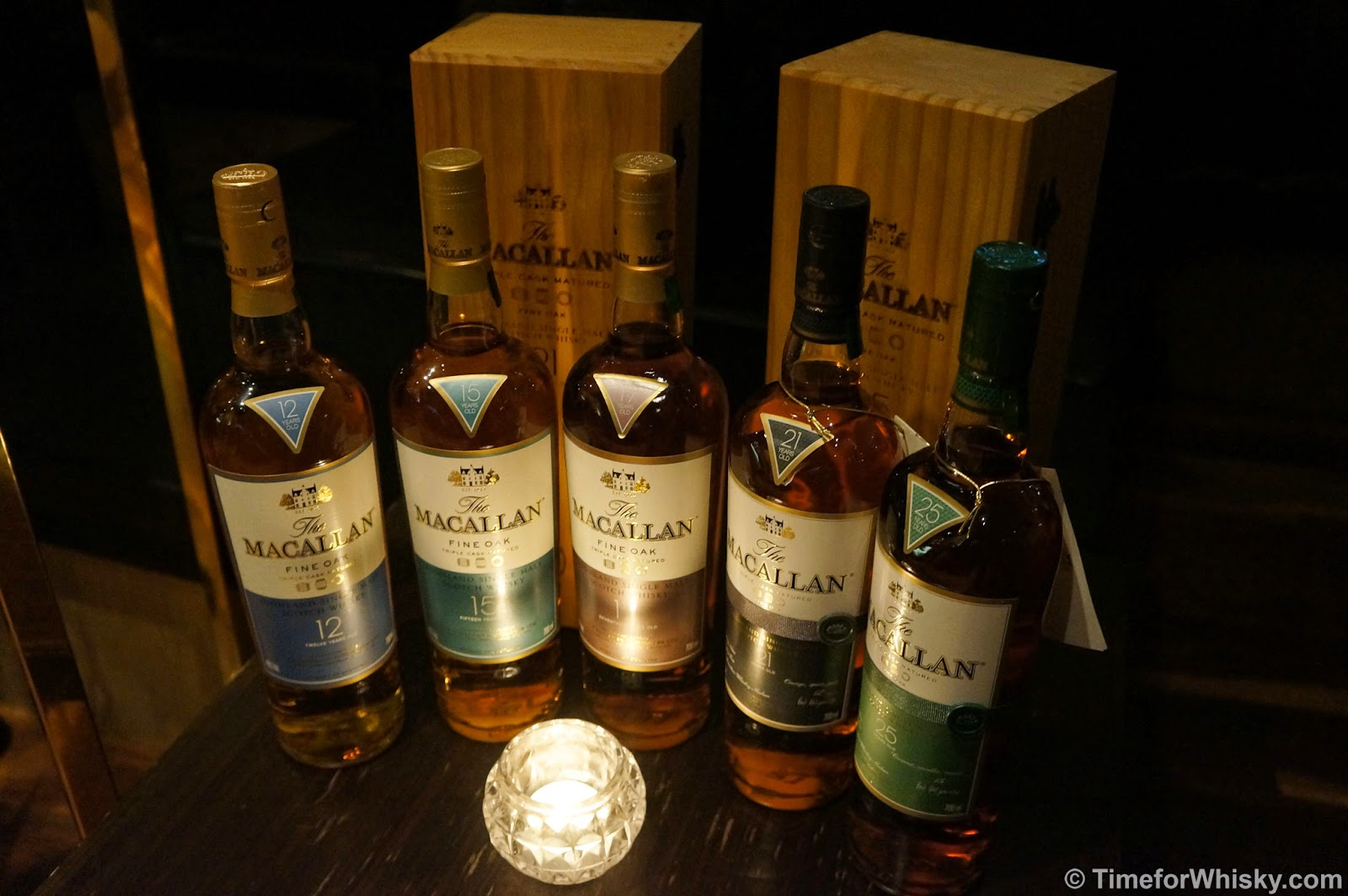 Time for Whisky.com: Macallan Fine Oak Tasting at The ...