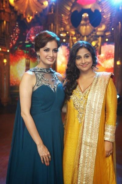 Dia Mirza and Vidya Balan