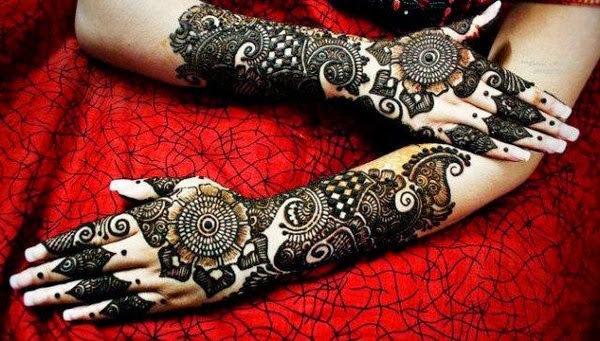 Indian Bridal Mehndi Designs Wallpapers Free Download