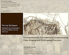 Keynote: A Comprehensive Framework for Understanding Cities Shaping and (Re)Shaping Processes