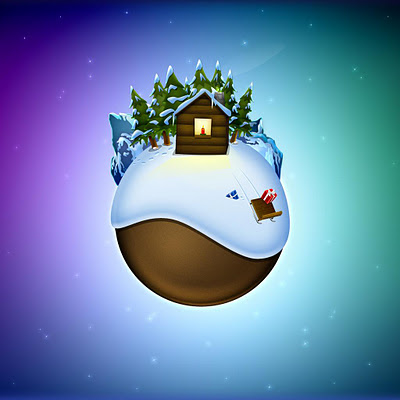 Christmas world download free wallpapers for Apple iPad