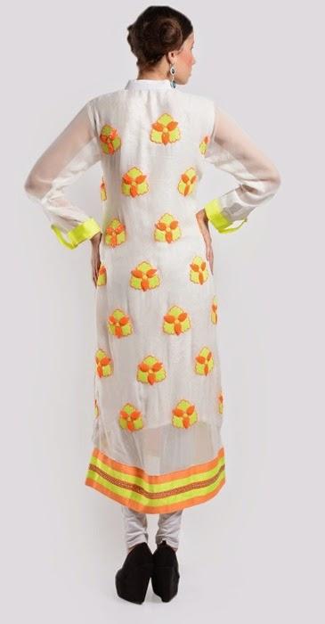 Girls Casual White Long Shirts in Pakistan