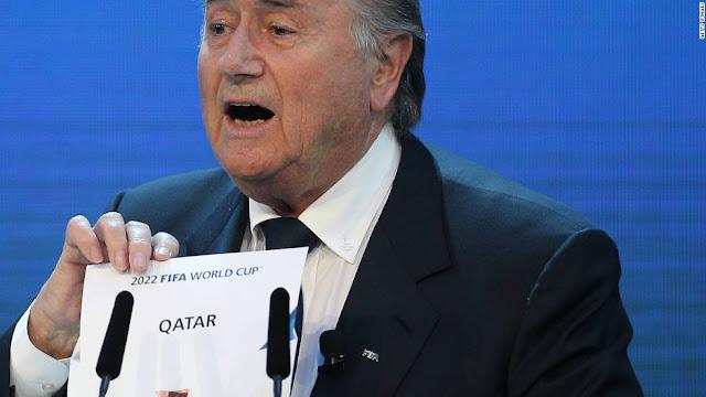 Finally, Mr. Blatter
