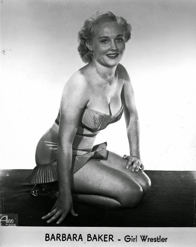Female Wrestler - Barbara Baker