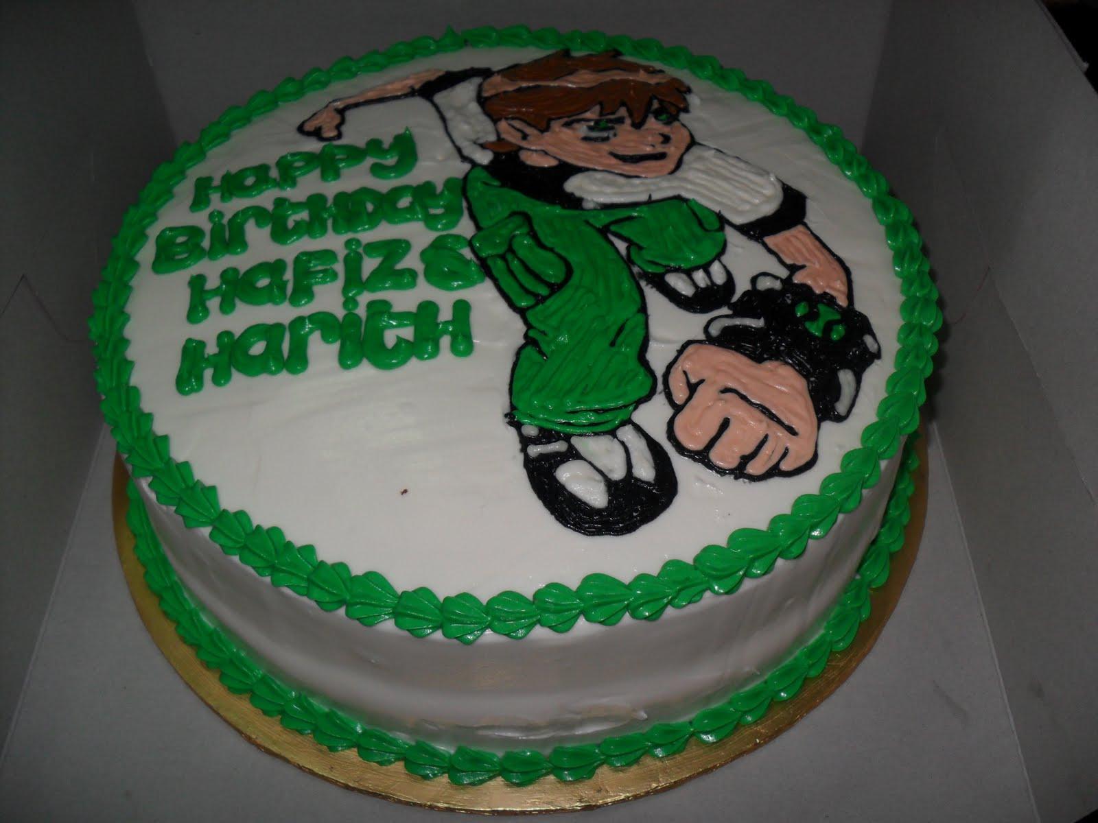 Myheartcupcakes Ben 10 Birthday Cake