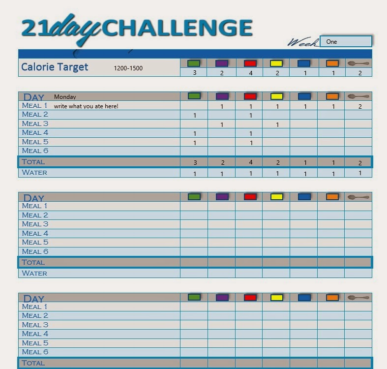 21 Day FIX Sneak PEEK!! WITH bonus editable PDF Meal Tracker ...