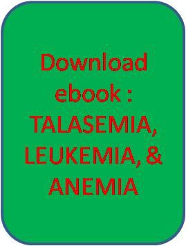 thalassaemia, leukemia, anemia