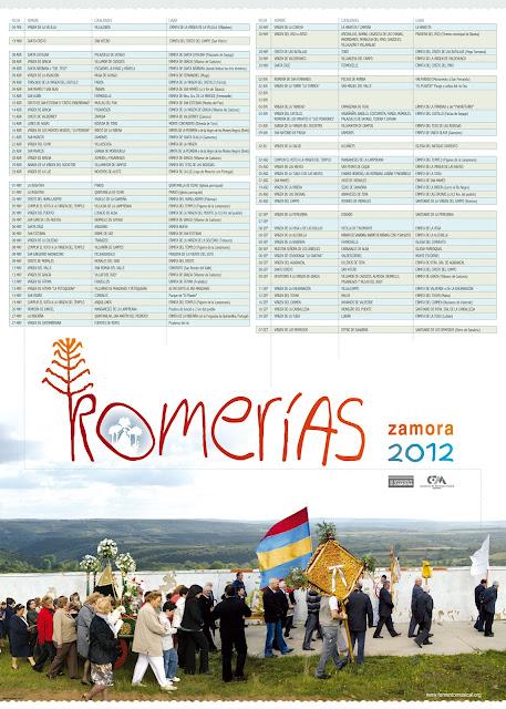 Romerias por la provincia de Zamora 2012