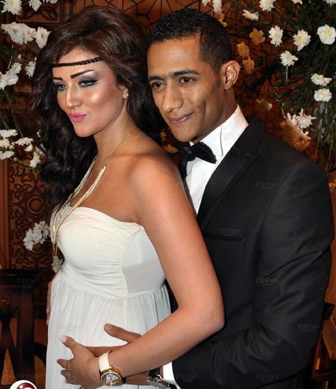 محمد فرح رمضان , فرح محمد رمضان , زوجة محمد رمضان , زفاف محمد رمضان بطل فيلم عبدة موته