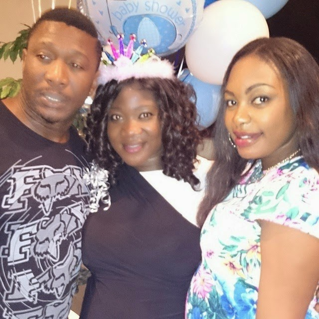mercy johnson baby shower