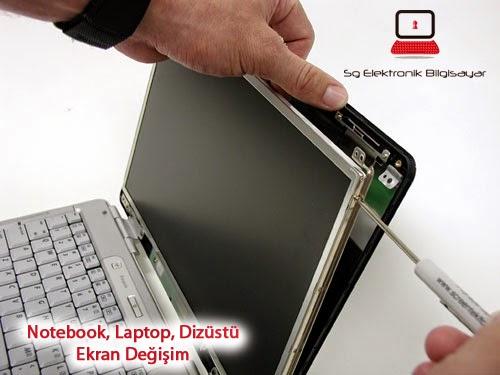 Notebook Ekran Değişimi Ankara, Laptop Ekran Değişimi Fiyatları Ankara