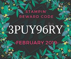 Stampin' Reward Code