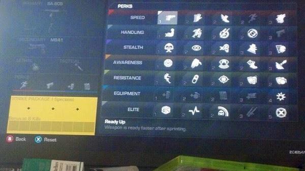 使命召唤10幽灵Perk技能点系统详细介绍