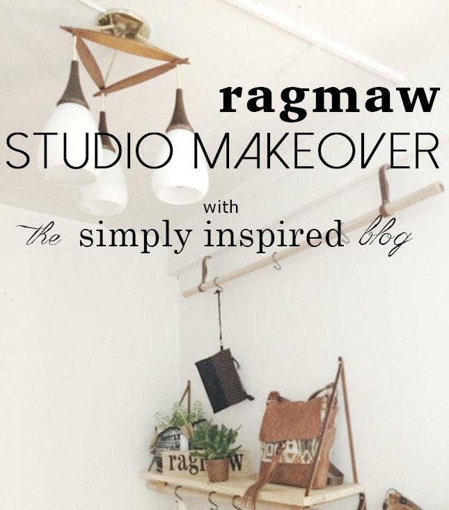 DIY studio makeover