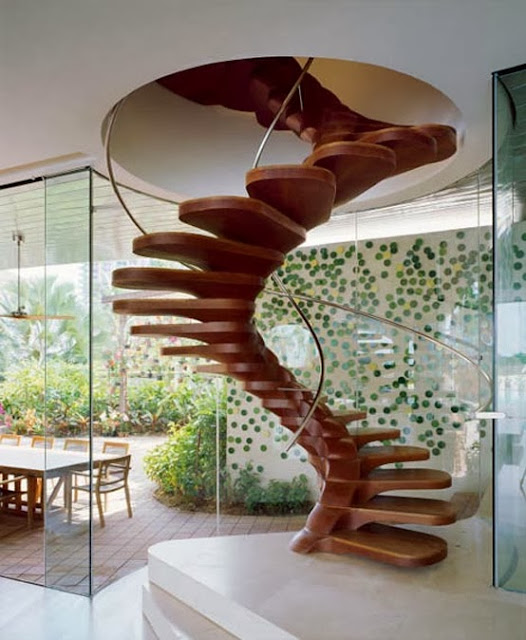 modelos y tipos de escaleras para interiores by