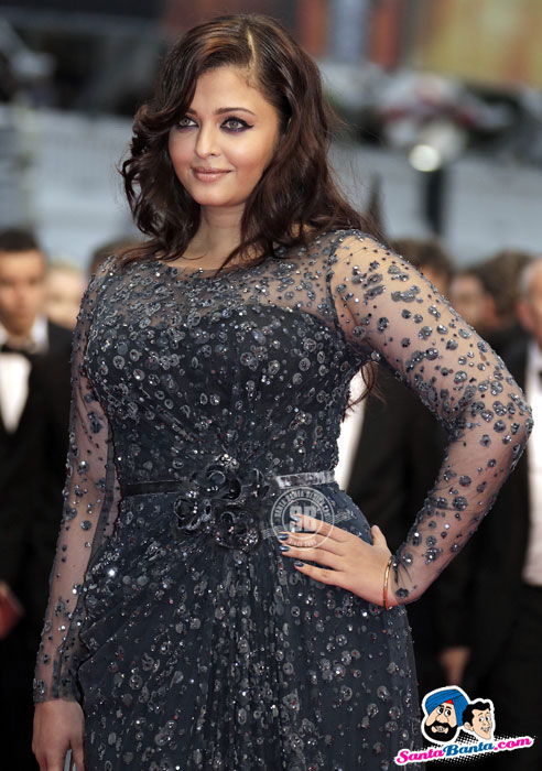 Aishwarya Rai arrives on the red carpet ahead of the screening of the film 'Cosmopolis' in competition at the 65th Cannes Film Festival - Cannes Film Festival 2012 Pics