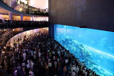 Dubai Mall Burj Khalifa complex