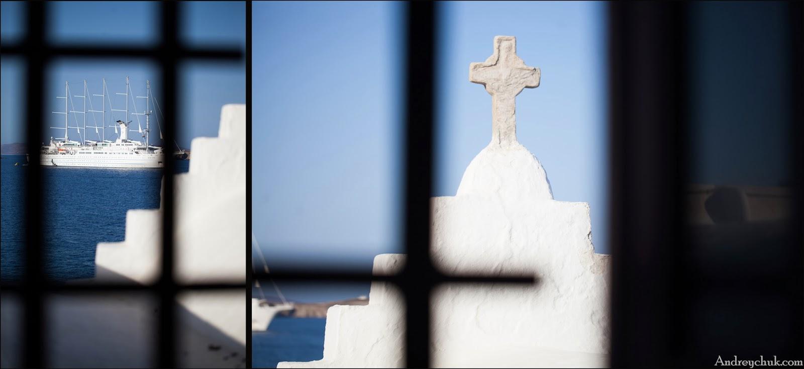 Церковь, о. Миконос