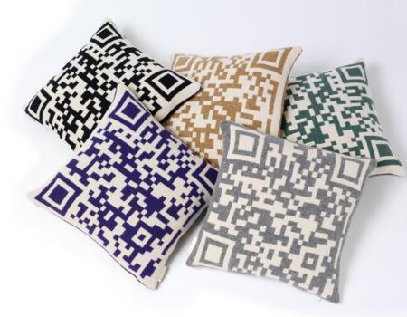 creer flashcode ou qr code qr code en guise de taie. Black Bedroom Furniture Sets. Home Design Ideas
