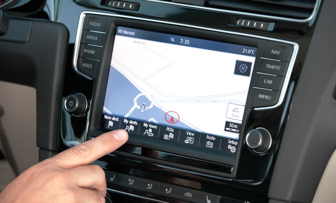 2013 VW Golf touchscreen