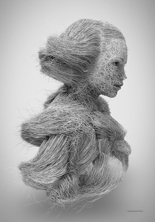 01-Hairline-Janusz-Jurek-Drawings-of-Texture-Enveloping-and-Constructing-the-Body-www-designstack-co