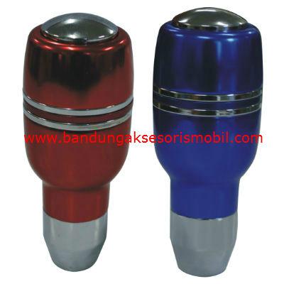 Gear Knob Momo Model Pencet Merah / Biru