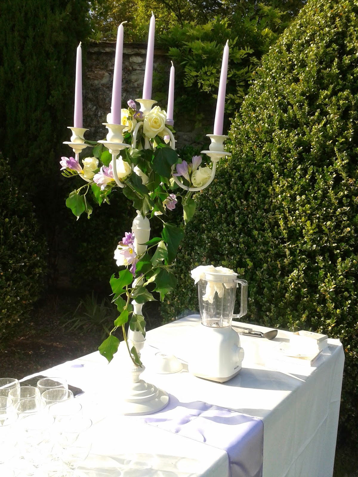decoration mariage foret enchantee