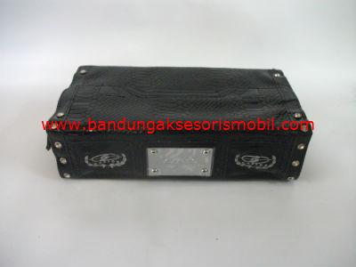 Box Tissue Channel Berlian Black
