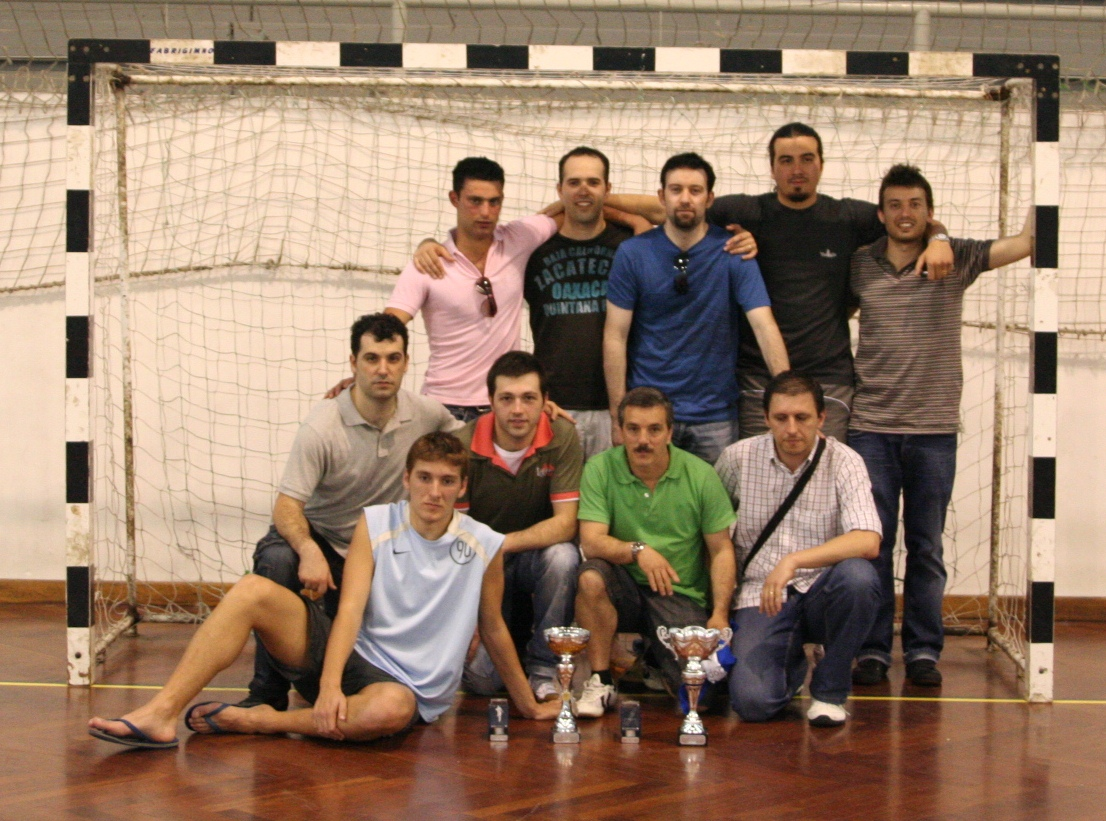 CAMPEÃO na Liga FutBaliense 2008/09