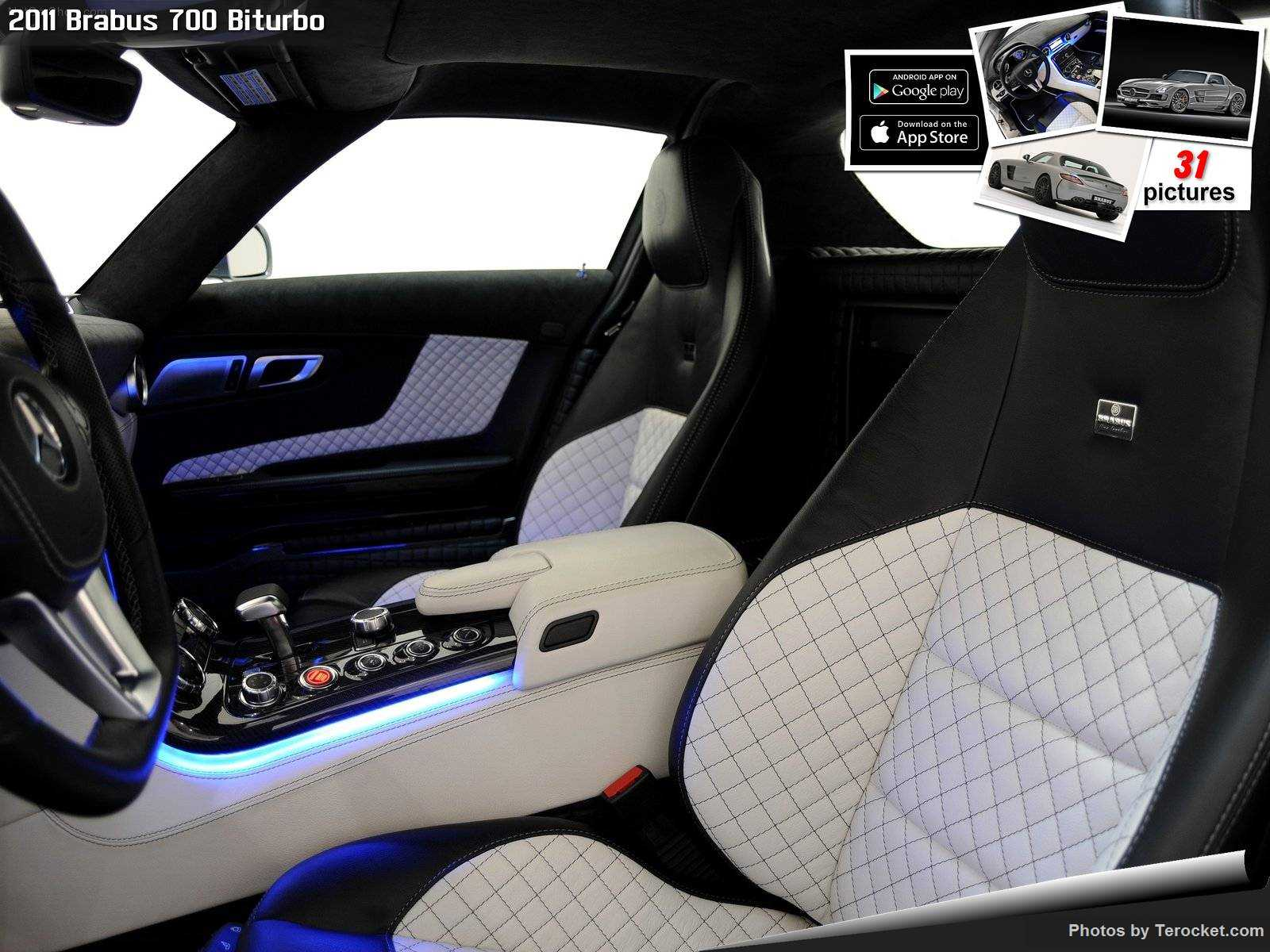 Hình ảnh xe ô tô Brabus 700 Biturbo 2011 & nội ngoại thất