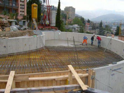 Le costruzioni in cemento armato costruzione di - Costruzione piscina in cemento armato ...