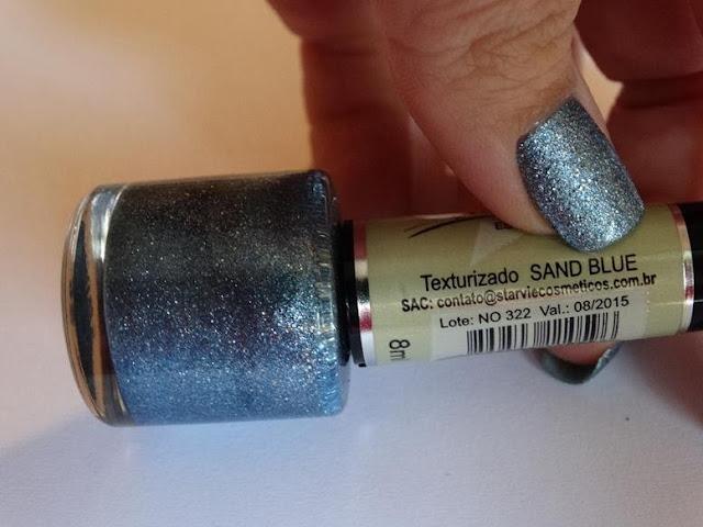 Esmalte StarVie Texturizado Sand Blue