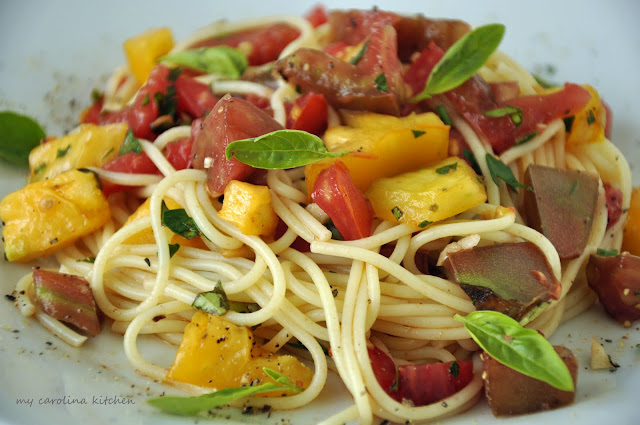 My Carolina Kitchen The Original Pasta Primavera Recipe Created By Ed Giobbi