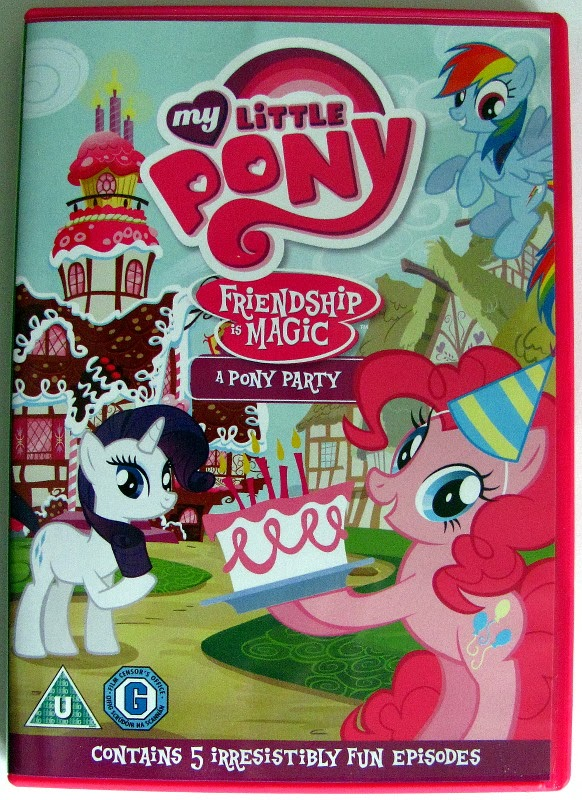 A Pony Party DVD cover