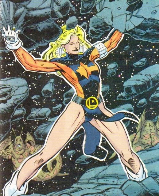 Laurel Gand / Andromeda - DC Comics
