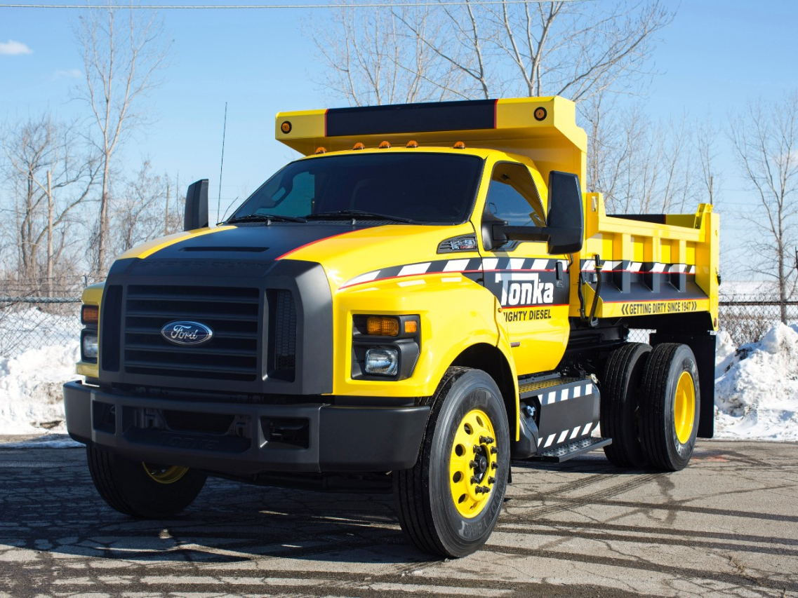 Ford Builds Real-Life TONKA Truck for NTEA Show