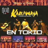 CONCIERTO DE KALLAWAYA EN TOKIO