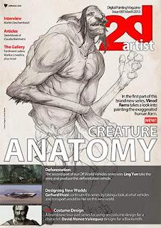 2D Artist Magazine Issue 087 March 2013