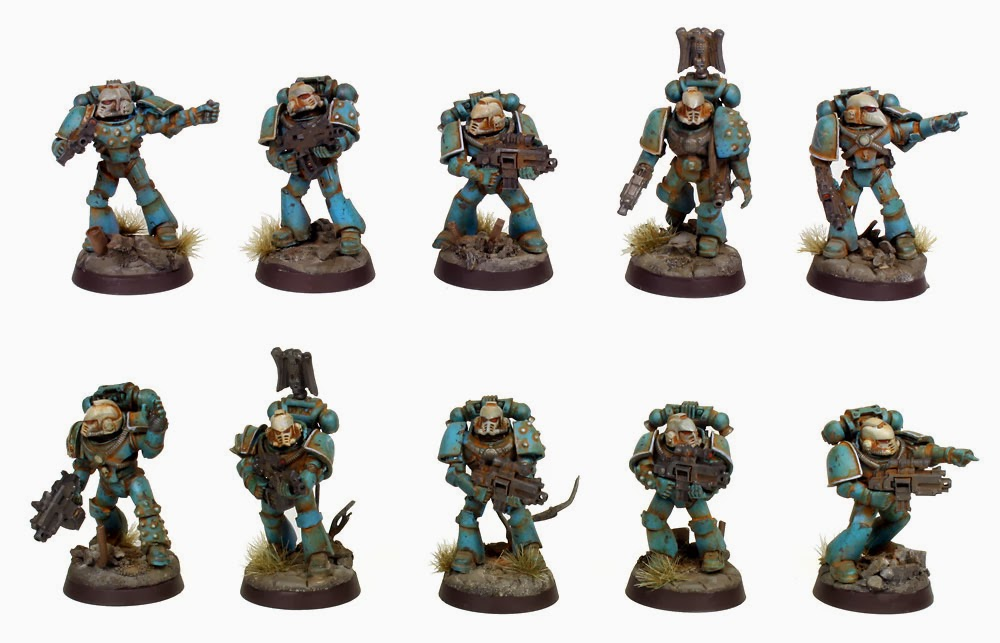 Pre Heresy Alpha Legion Tactical Marines