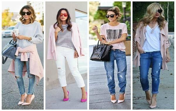 Pantone looks em jeans e rosa quartzo verão 2016