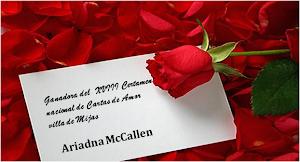 Ganadora del certamen nacional Cartas de amor Villa de Mijas