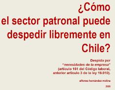 Libre despido en Chile. Cómo puede operar aún.