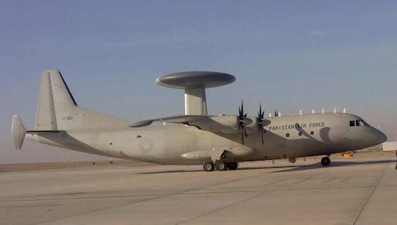 Karakoram Eagle AWACS aircraft