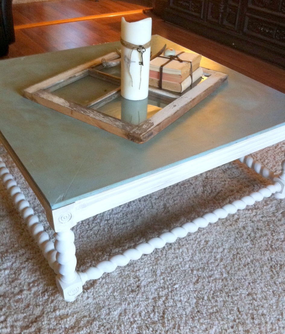 Home Sweet Nest: Coffee Table Makeover
