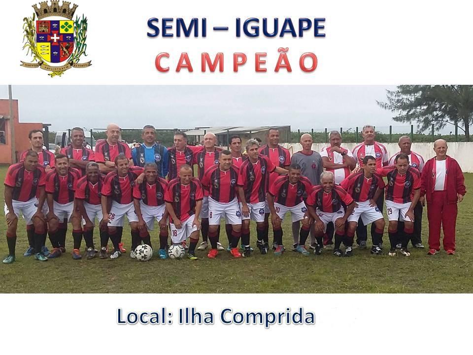 IGUAPE CAMPEÃO