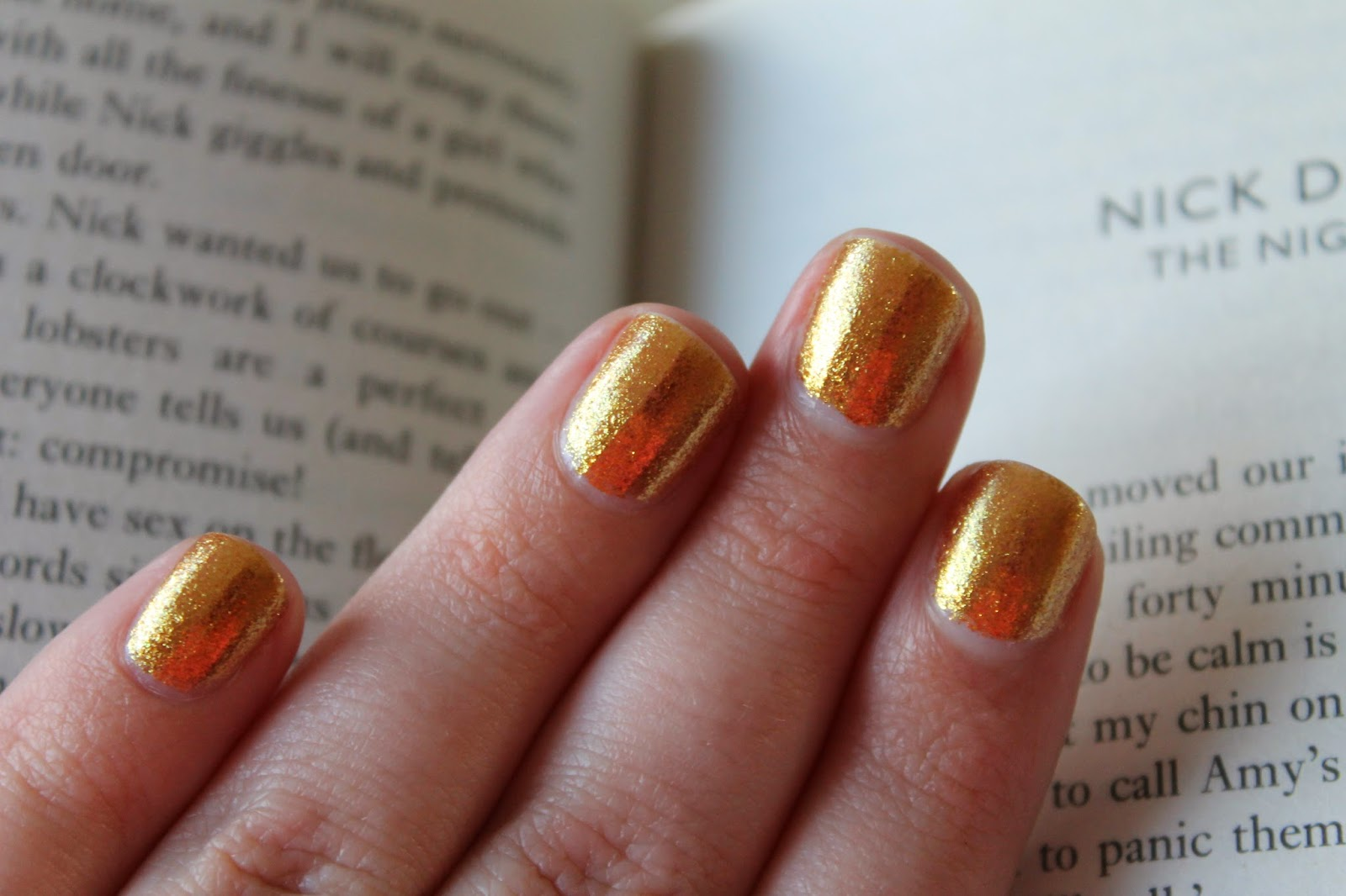 OPI GoldenEye From The James Bond Skyfall Collection