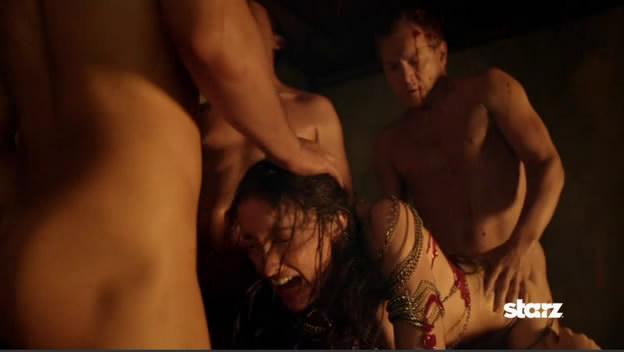 Эротичемкие сцены из фильма спартак