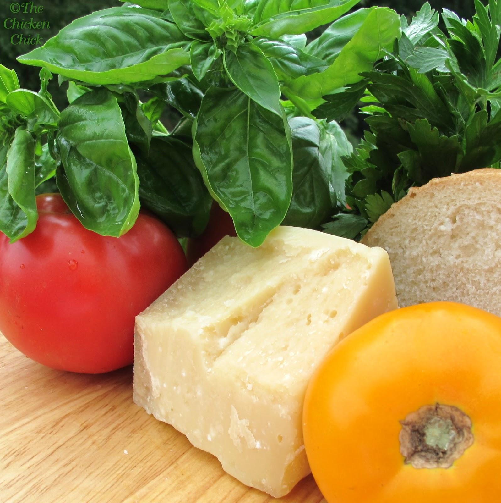 ... Chicken Chick®: Panzanella, Tomato Bread Salad. The taste of summer